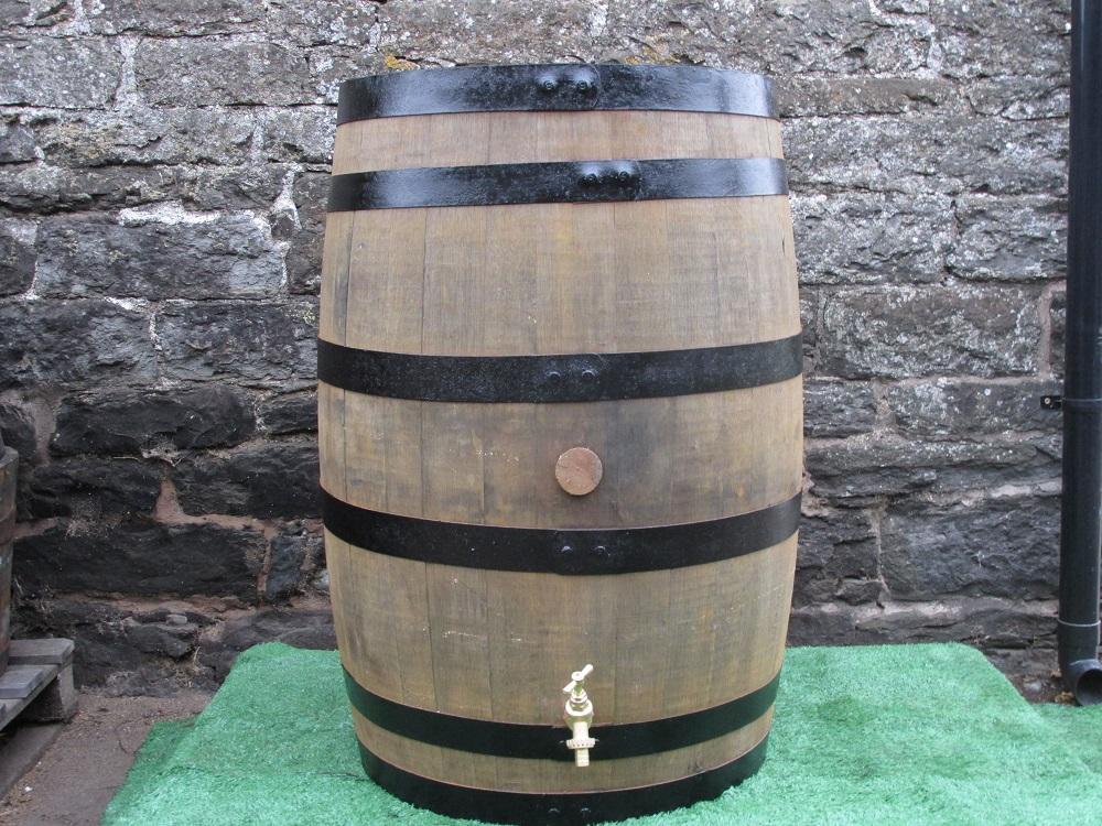 barrel water butt