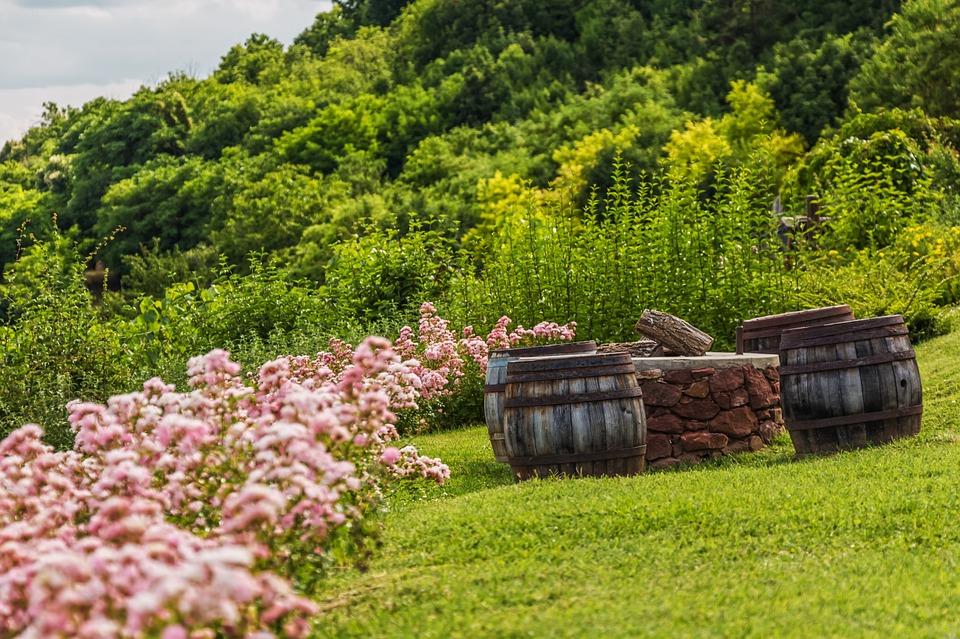 garden barrels
