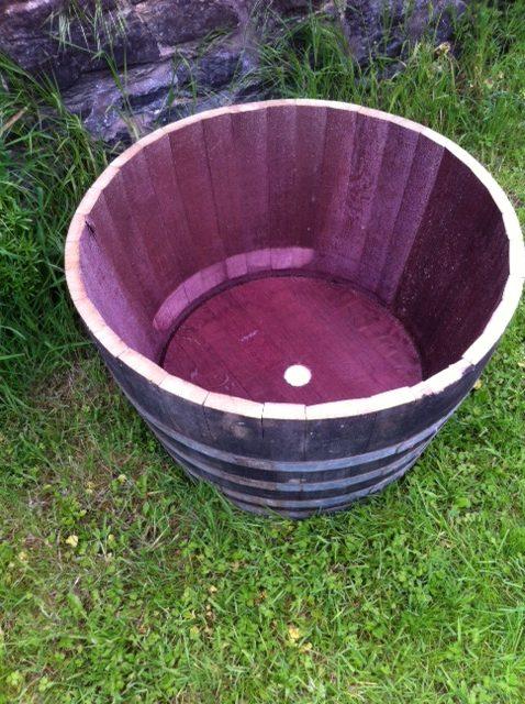 Barrel Planter